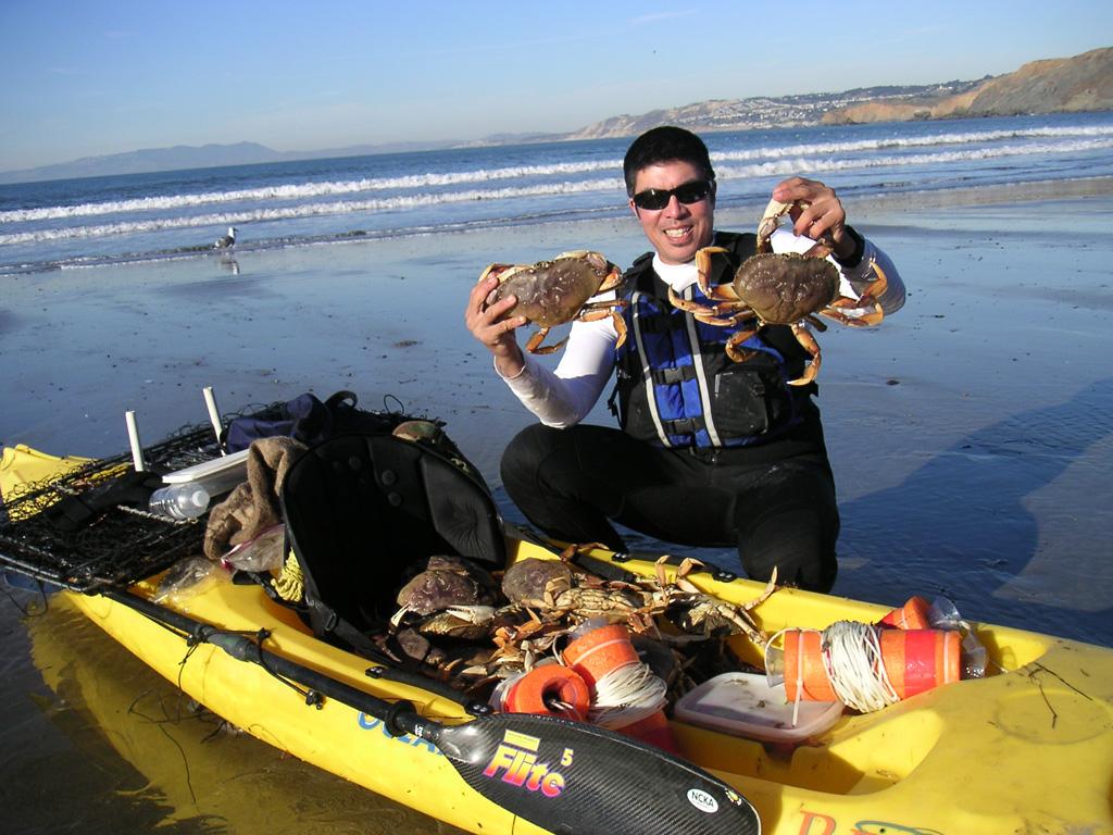 Image gallery kayak crabbing for Alsea river fishing report